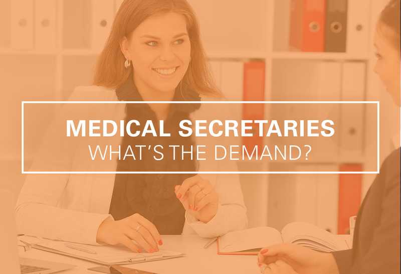 Medical Secretary Career Demand and Outlook