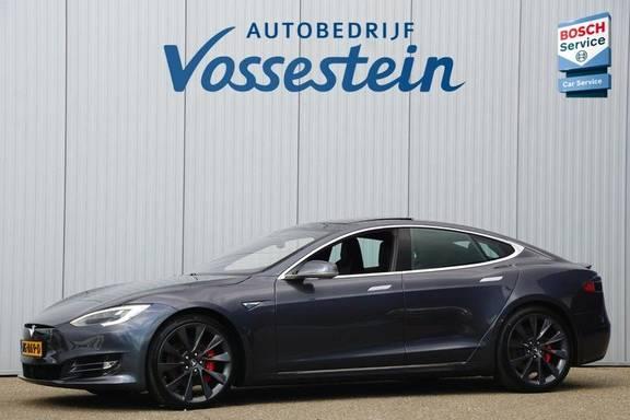 Tesla Model S P90D Performance Ludicrous 576pk / Autopilot / Pano / 21inch / Carbon / 162.500,- Nieuw / Free Supercharging!