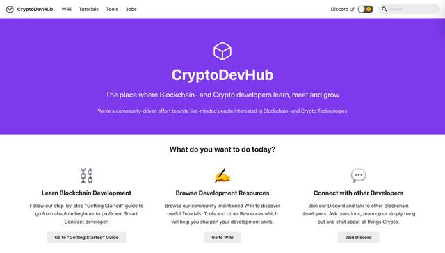 CryptoDevHub