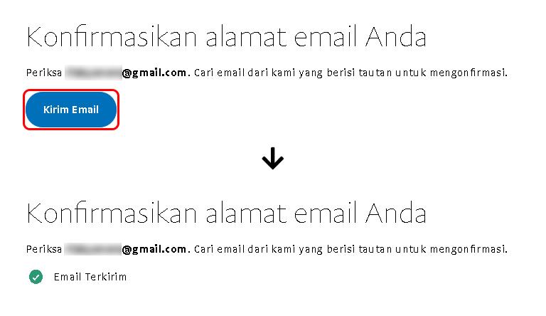 Konfirmasi alamat email