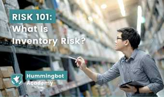 What is inventory risk?
