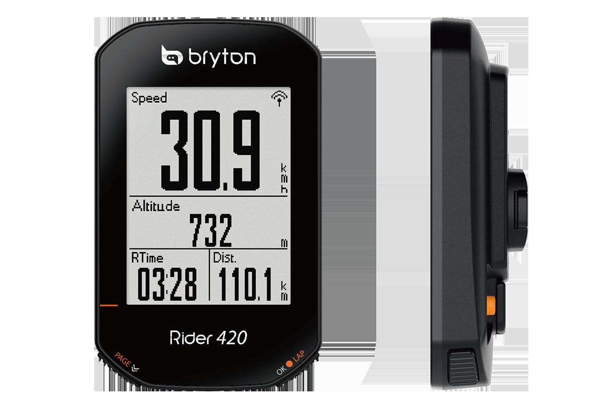 Ciclocomputer Bryton Rider 420 il nuovo best buy!