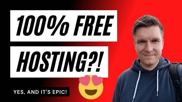 Bonus: Premium (100% Free) Hosting Tutorial)