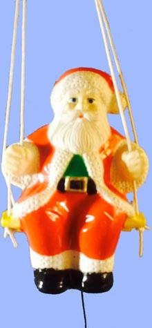 Santa On Swing photo