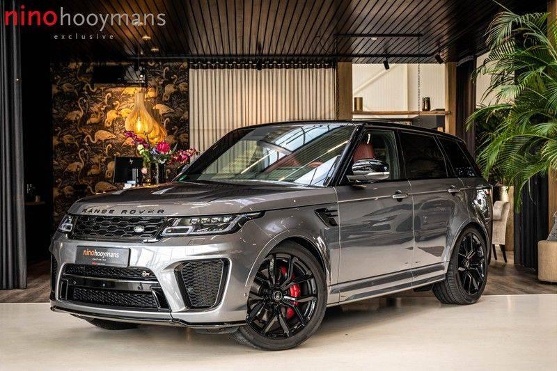 Land Rover Range Rover Sport P575 SVR | Panorama | Stoelkoeling | HUD | Carbon afbeelding 1