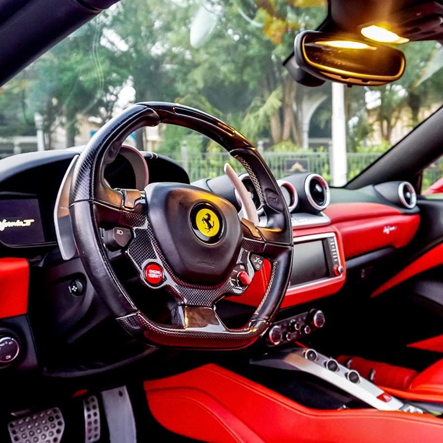 Ferrari california interiors