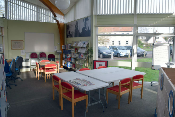 Interior of Aldeburgh Library