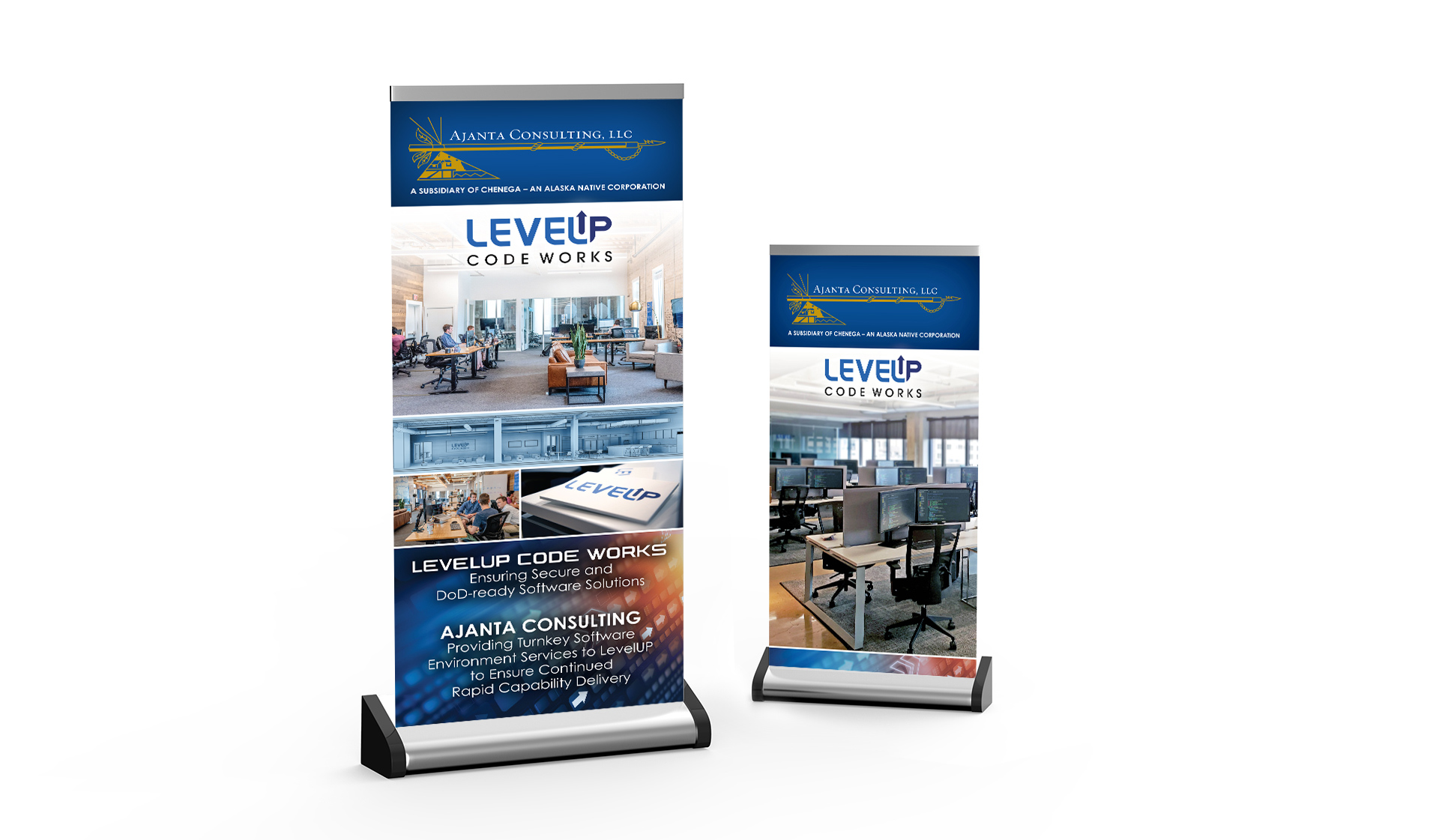 LevelUp Banners