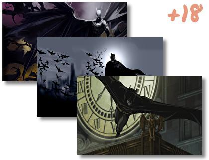 Batman Comics theme pack
