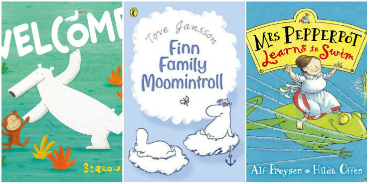 Welcome, Finn Family Moomintroll, Mrs Pepperpot Learns to Swim