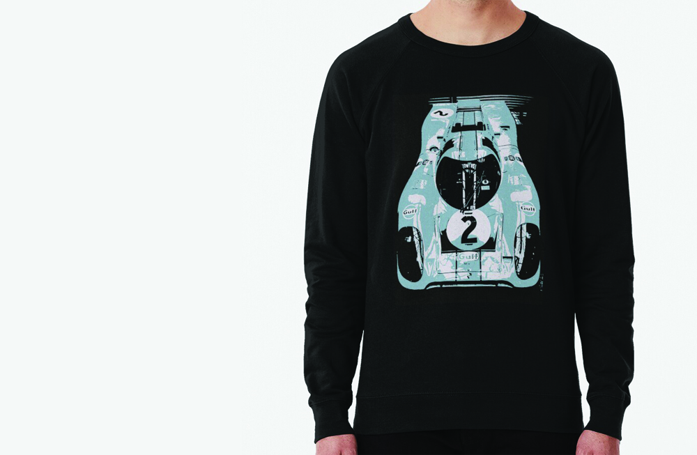 Porsche 917K Lightweight Sweatshirt by thespeedart