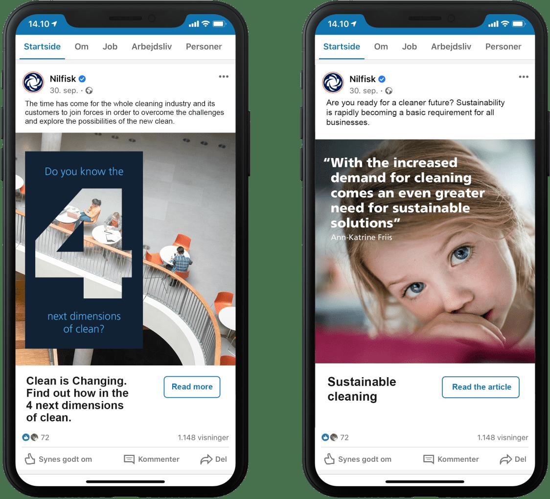 Nilfisk social ads