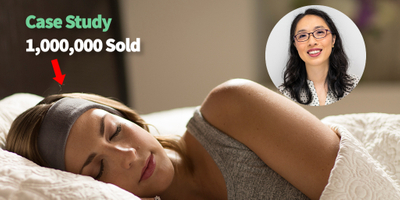featured image thumbnail for post After trouble sleeping we created sleep headphones and sold 1,000,000 pairs