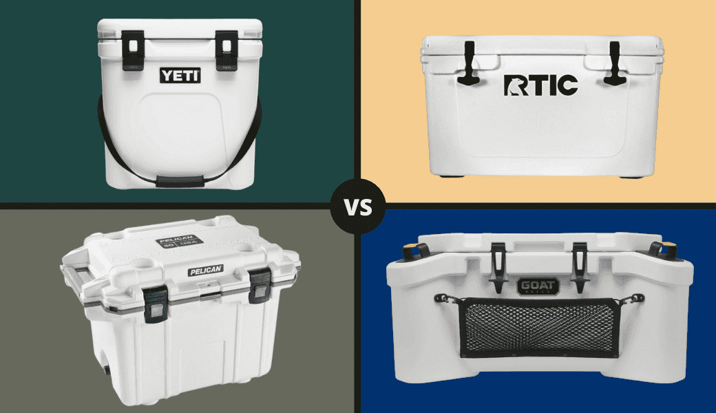Best Coolers Reviewed:, RTIC vs. YETI (Pelican & GOAT Too), - 2021 Review cover image
