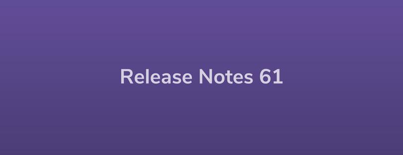 Esper Release Notes – DevRel 61