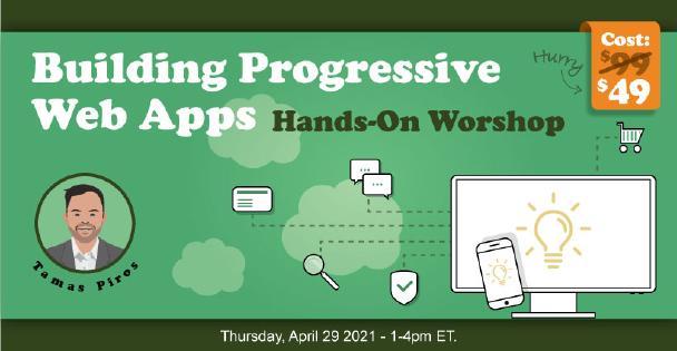 Banner for Building Progressive Web Apps (Workshop)
