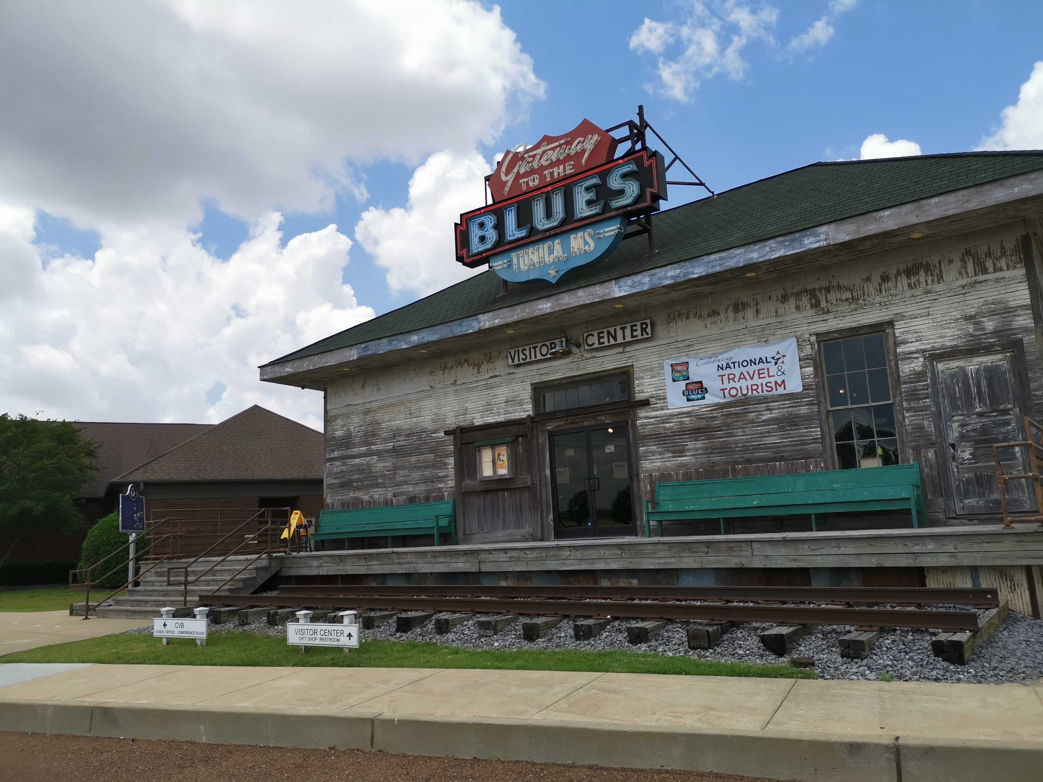 Le Mississippi et la route du Blues cover image
