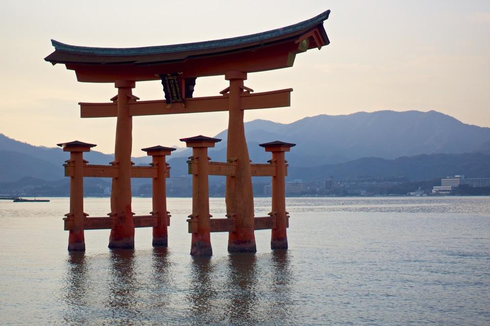 Itsukushima Shinto Shrine torii