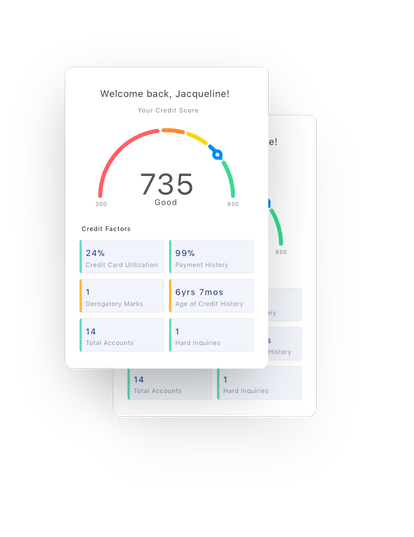 Credit Karma user interface