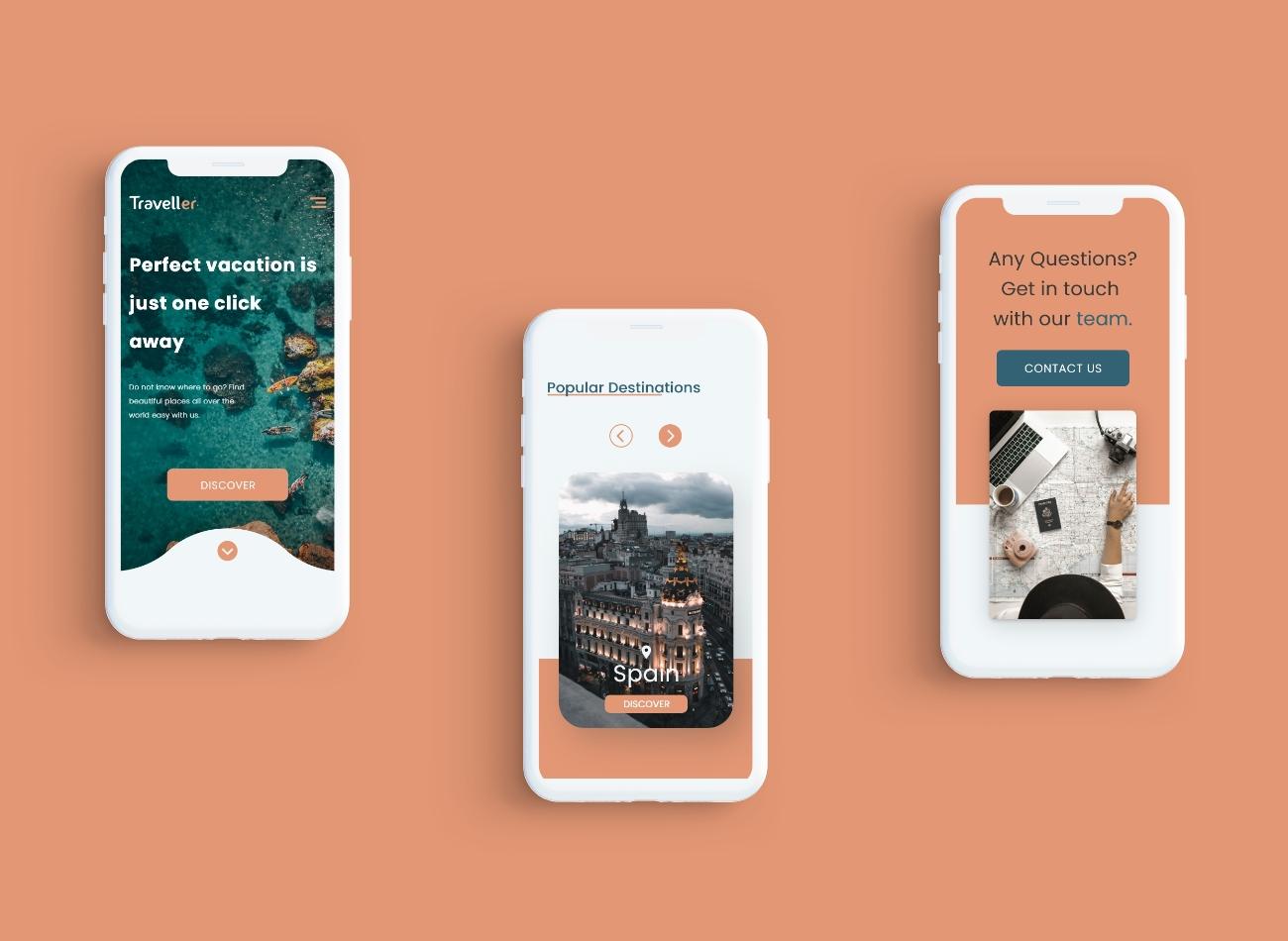 Mobile Design Mockup1
