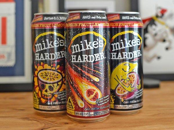 Mike's HARDER Lemonade cans