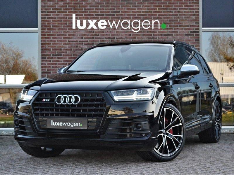 Audi SQ7 4.0 TDI 435pk quattro Pano Nachtz ACC HUD 4wielbest Ruitstiksel Luchtv 22inch Carbon afbeelding 1