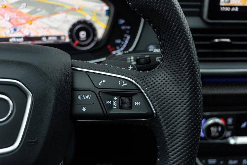 Audi Q5 2.0 TFSI 252pk Quattro Black Edition Luchtvering Panoramadak ACC Valconaleder VirtualCockpit Carbon Matrix Keyless DriveSelect Navi/MMI/Touch Camera ParkAssist Pdc afbeelding 21
