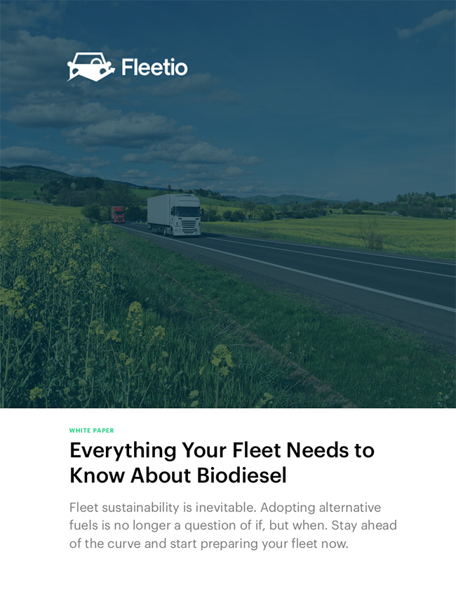 Everything your fleet needs to know about biodiesel white paper