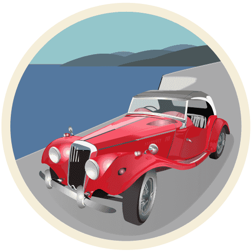 The English Garage on the French Riviera logo