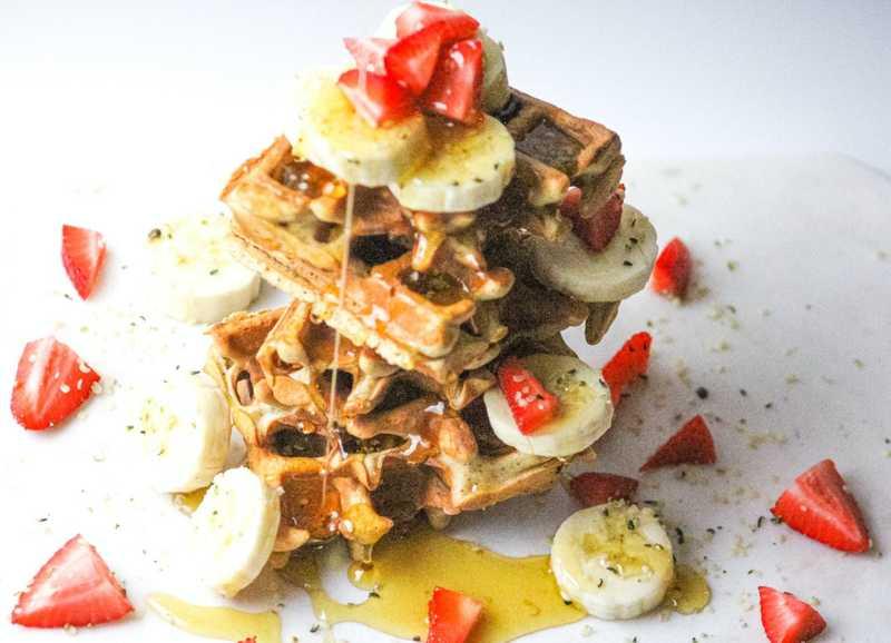 DIY Recipe: CBD-Infused Buttermilk Quinoa Waffles