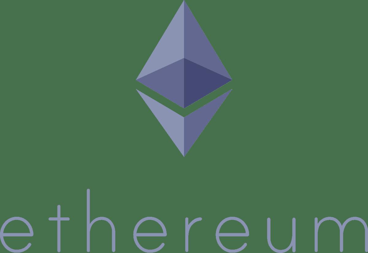 Ethereum icon purple