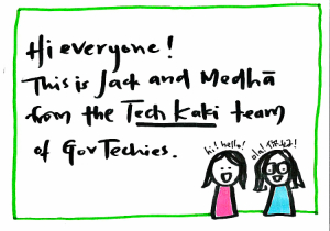 be our tech kaki!