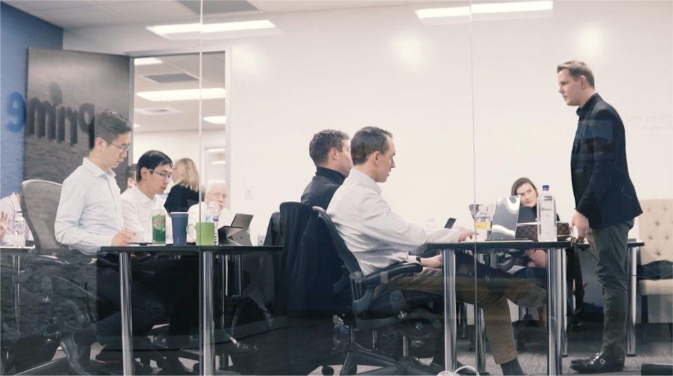Prime trust office meeting