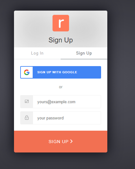 Sign up to retainful