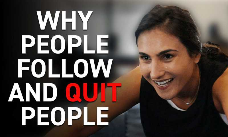 Why People Follow and Quit People NOT Businesses
