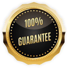 100% Guarantee Badge
