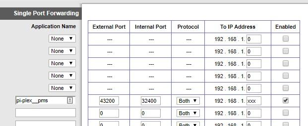 Cisco Port Forward