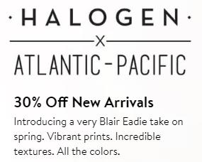 Halogen offer example