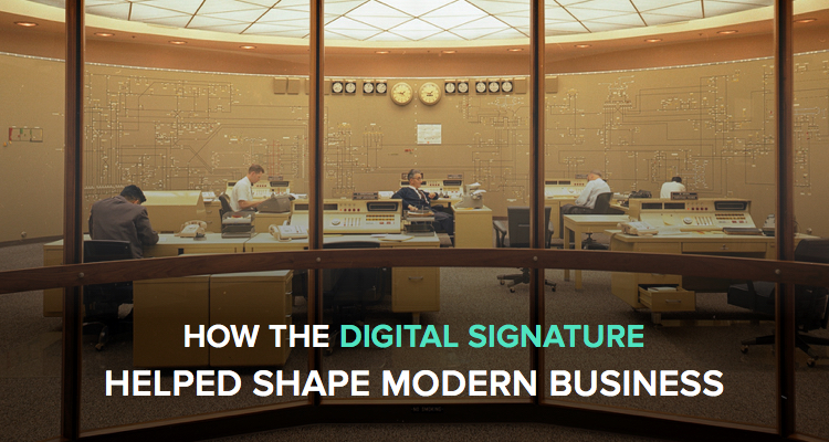 How the digital signature helped shape modern business