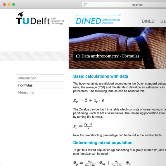 Old dined.io.tudelft.nl page