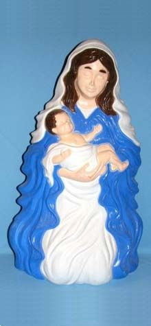 Mary Holding Baby Jesus photo