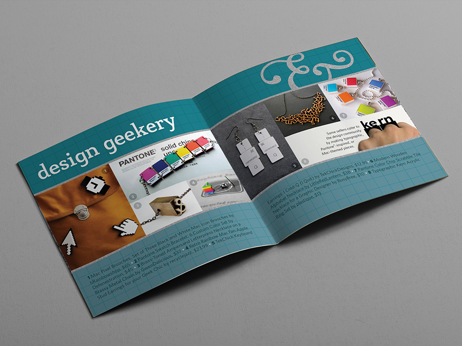 Design geek spread