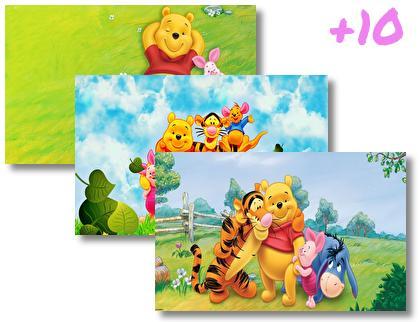 Winnie Pooh theme pack