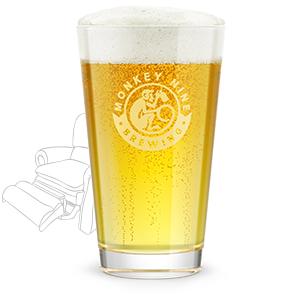 Rendering of Monkey 9 Dad's Lager Beer