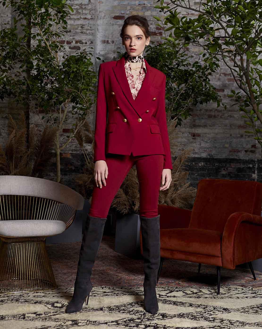 L'AGENCE - blazer Kenizie double dressed