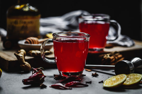 Sorrel (Hibiscus) Hot Toddy