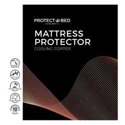 Cooling Copper Mattress Protector