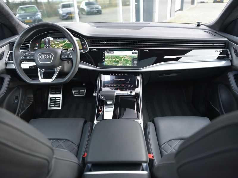 Audi Q8 50TDI 286pk Quattro S-Line Black Optic Lucht RS-zetels B&O High-end Alcant.Hemel TV Head-Up Standk ALLE OPTIES! afbeelding 22