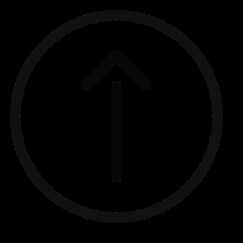 Arrow circle up