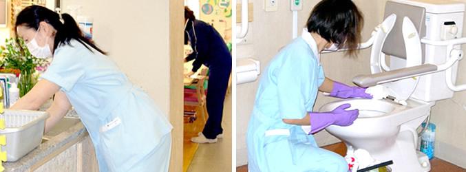 介護施設クリーニング